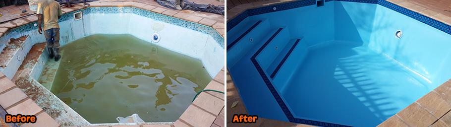 fibreglass swimming pool repair