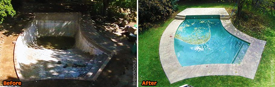 swimming pool repair renovation experts