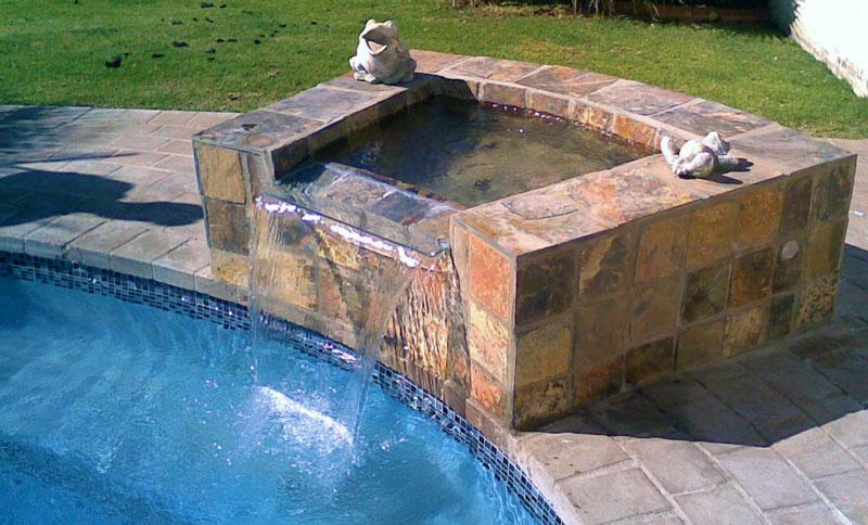 Swimming Pool Water Features | Rhino Pools Pretoria